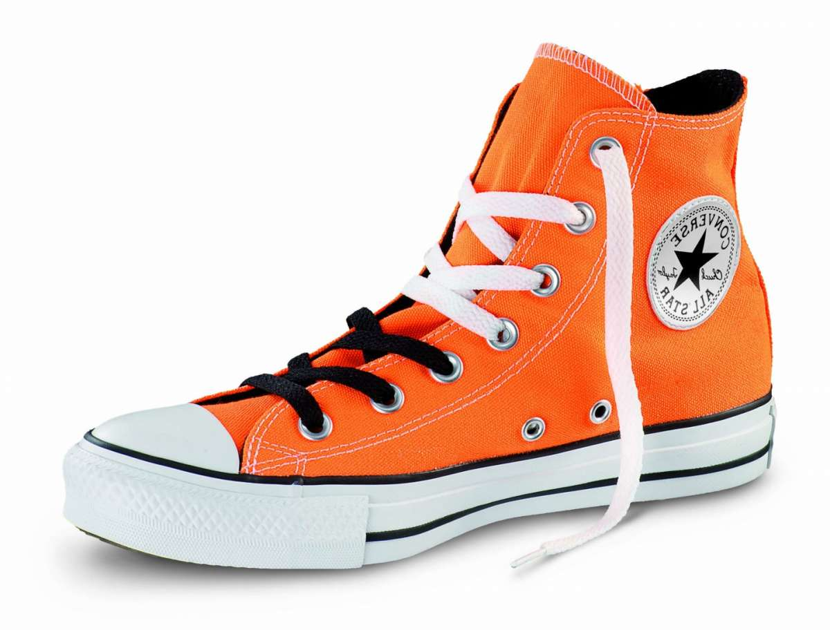 converse all star alte arancioni