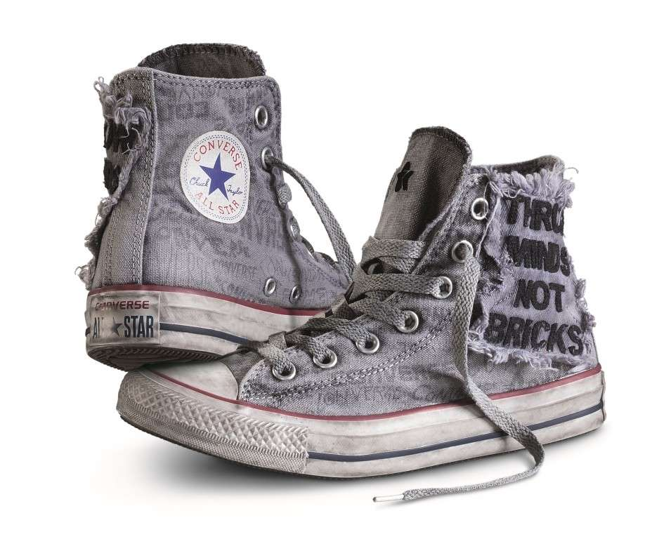 converse all star donna con brillantini