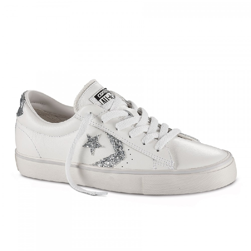 converse pro leather rosse online