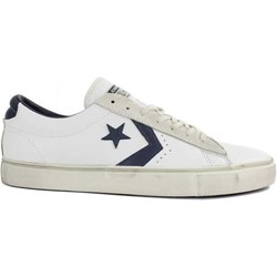 2converse all star bianche pelle