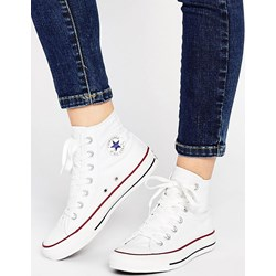 converse all star bianche alte donna