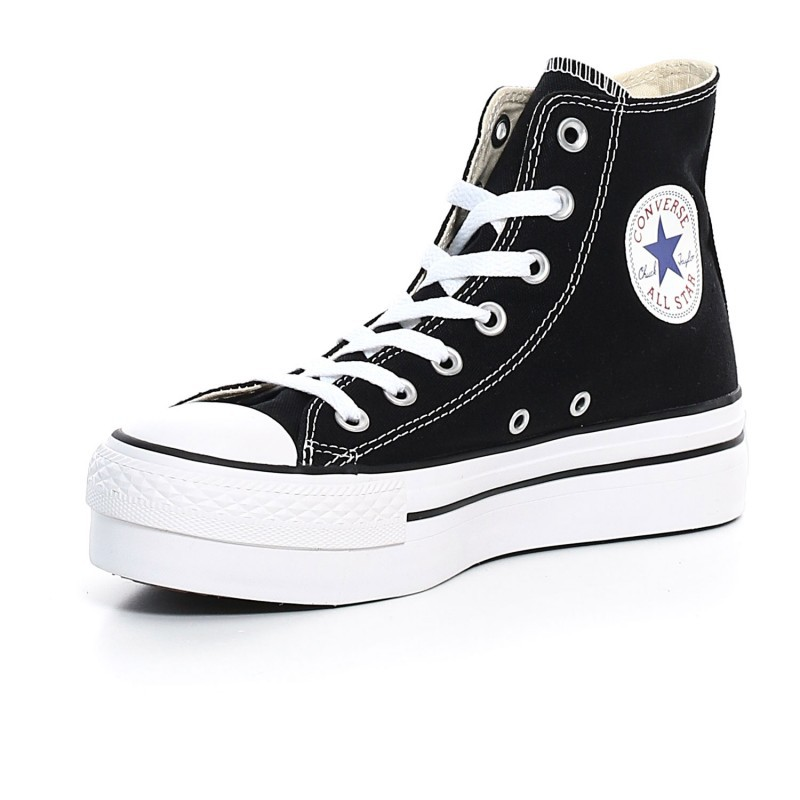 2converse all star nere alte donna