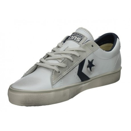 sneakers converse pelle bianche