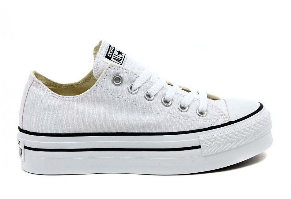 converse all star donna con rialzo