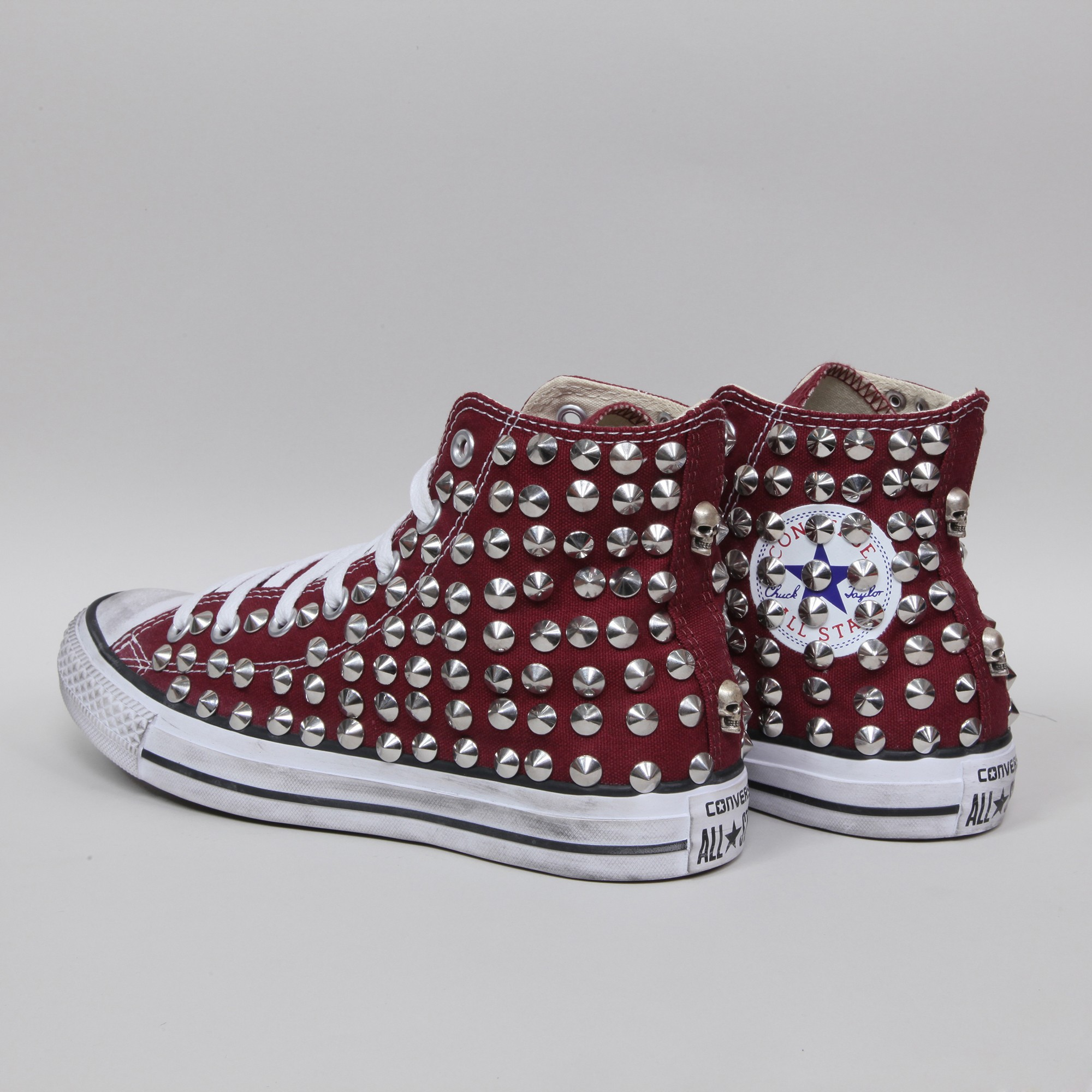 converse all star alta bordeaux
