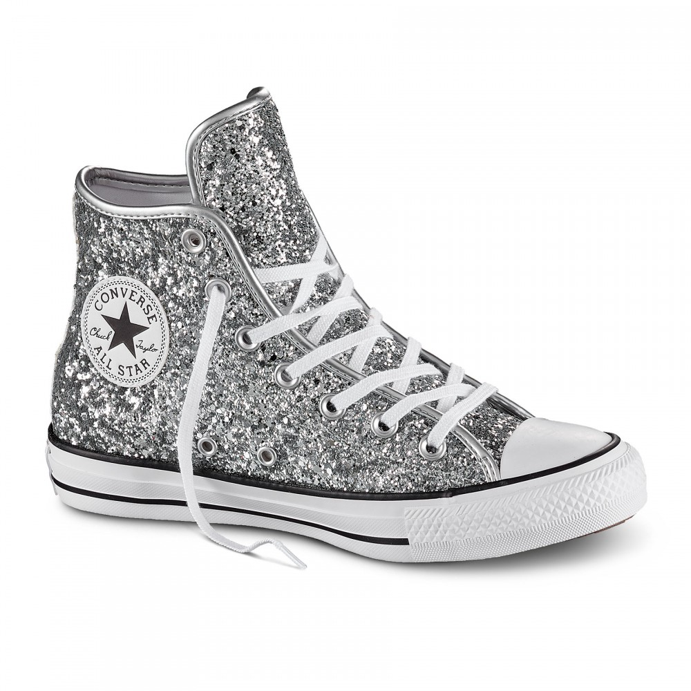 converse all star donna alte nere