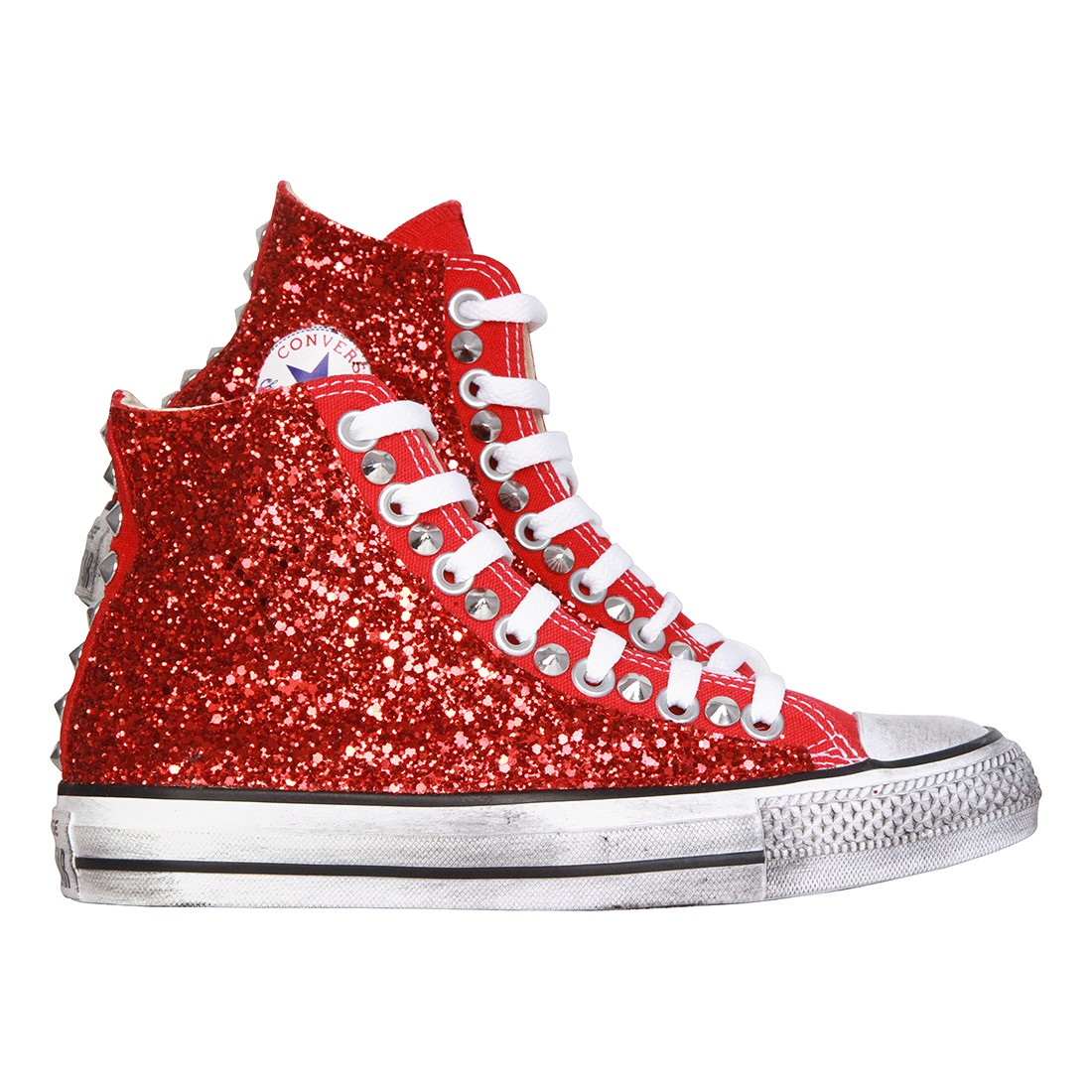 converse all star rosse