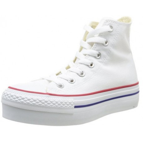 2all star converse bianche platform
