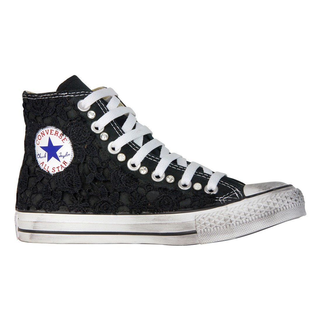 converse nere basse all star
