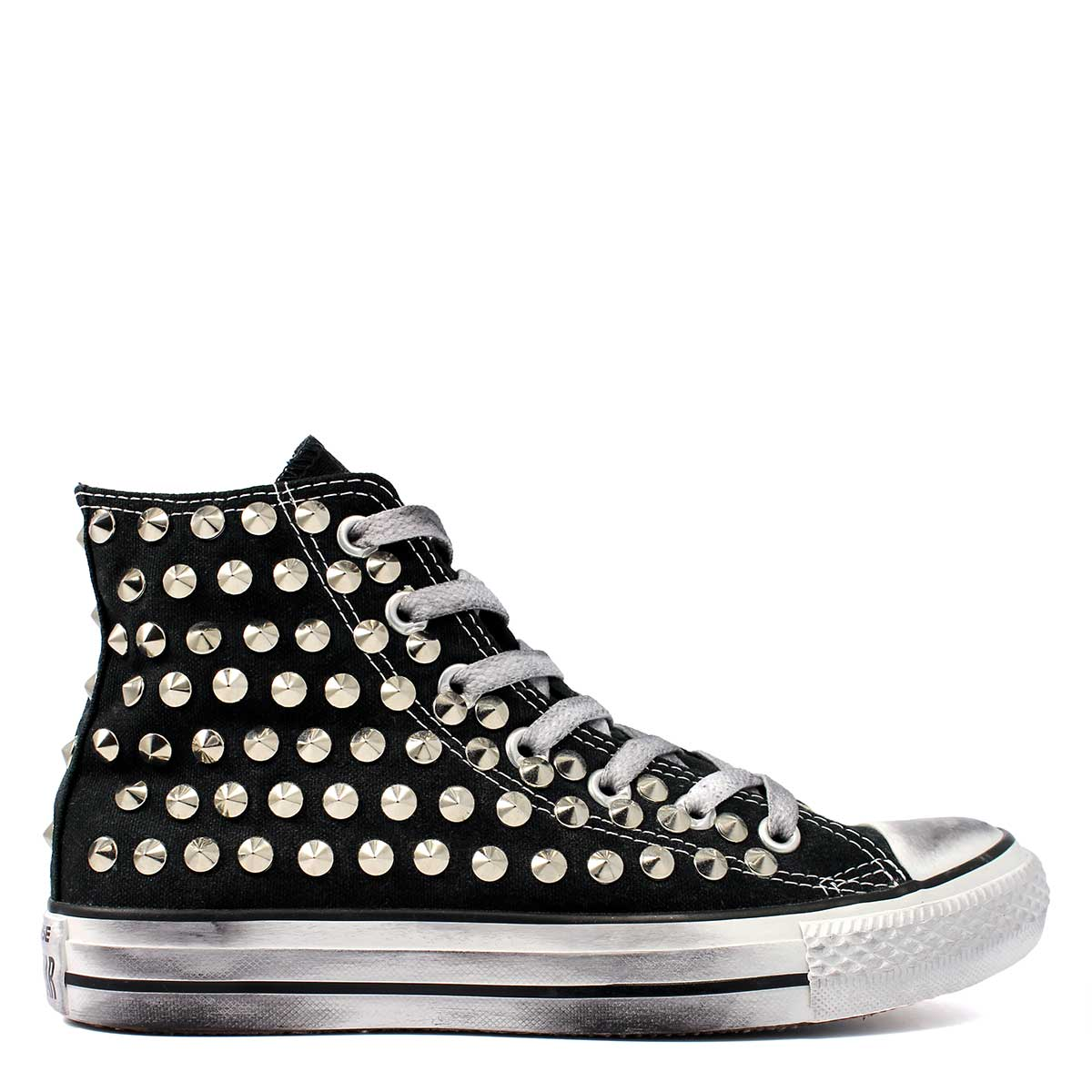 converse all star con borchie